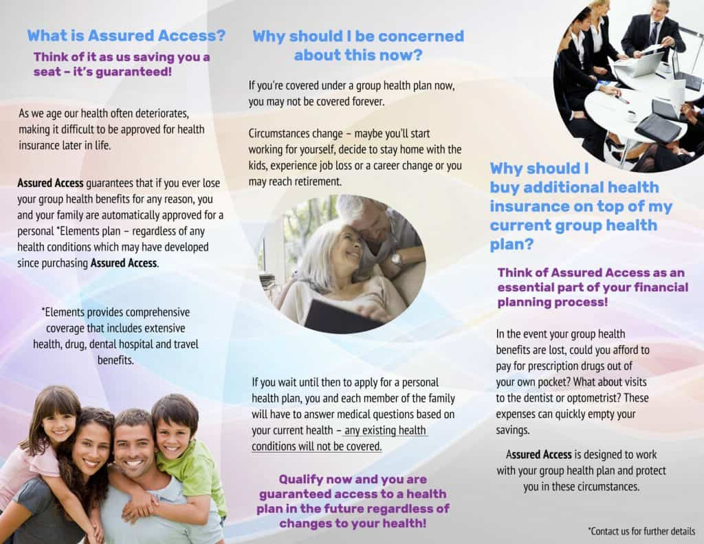 Medavie blue cross assured access insurance