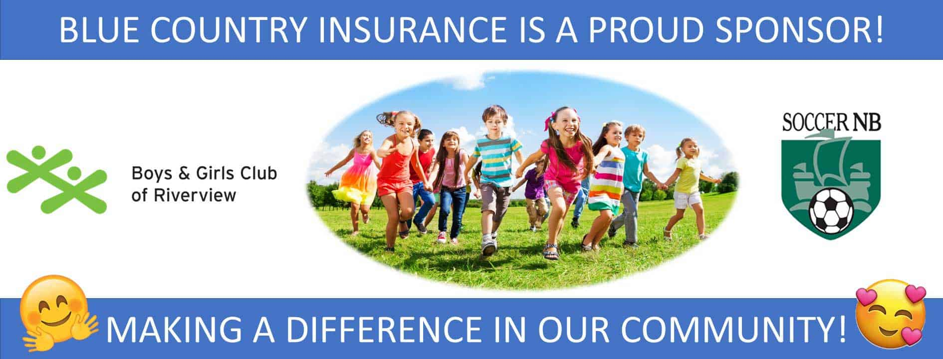 Sponsorship programs by blue country insurance