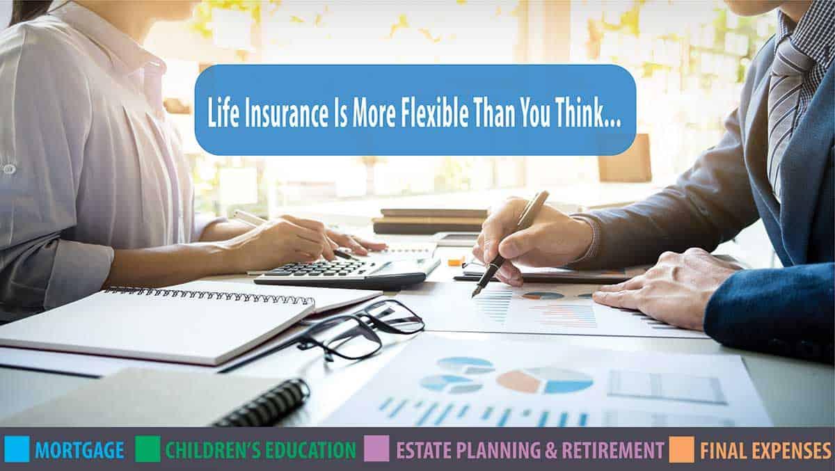 flexable life insurance st. john's